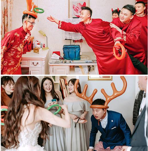 婚礼套圈小游戏