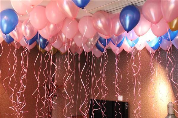 婚房布置氦气球