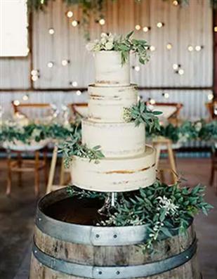 森系婚礼蛋糕